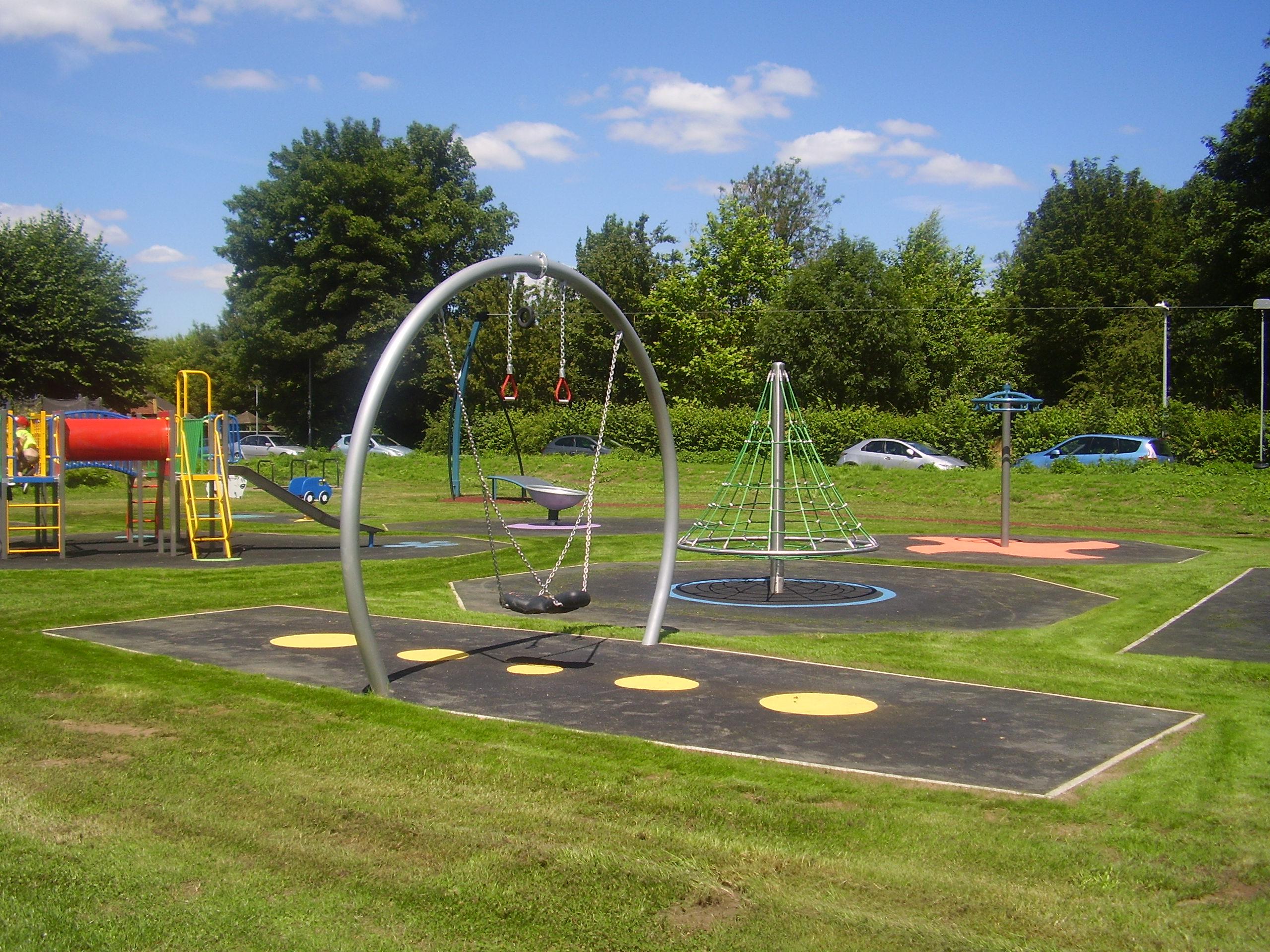 Sawston parish council for Orchard park